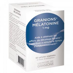 Laboratoire des Granions Melatonine 1mg - 60 gélules