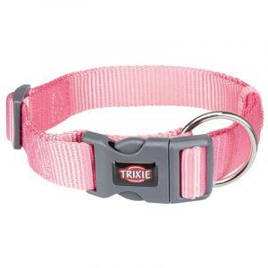 Trixie Premium collier - L-XL: 40-65 cm/25 mm, rose