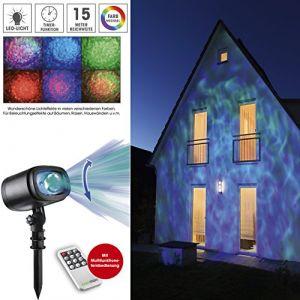 Easymaxx Projecteur éclairage extérieur changement de couleur étanche IP65