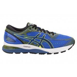 Asics Gel-Nimbus 21, Chaussures de Running Compétition Homme, Multicolore (Illusion Blue/Black 400), 47 EU