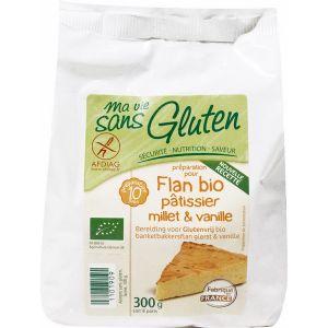 Ma vie sans gluten Préparation Flan millet et vanille 300g