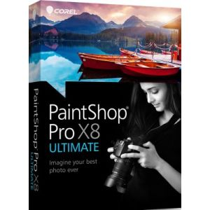 PaintShop Pro X8 Ultimate pour Windows