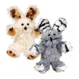 Kong Softie Fuzzy Bunny Jouets Actifs pour les Chats