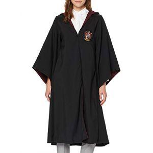 Cinereplicas Harry Potter - Robe de Sorcier - Licence Officielle - Maison Gryffondor - M - Noir et Rouge