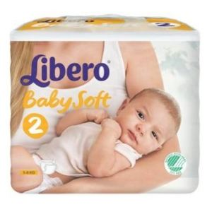 Libero Baby Soft 2 (3-6 kg) - 88 langes