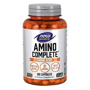 Now Foods Amino complete - 120 gelules