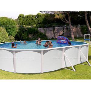 Toi piscine 8934 piscine ovalada en acier 640 x 366 x for Prix piscine acier