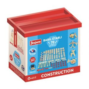 Jeujura Baril 70 pièces en bois pour établi bois