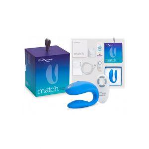 We-Vibe Vibro clitoridien spécial point G télécommandé rechargeable Match