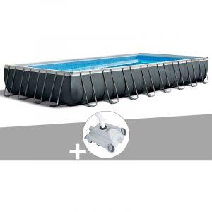 Intex Kit piscine tubulaire Ultra XTR Frame rectangulaire 9,75 x 4,88 x 1,32 m + Robot nettoyeur