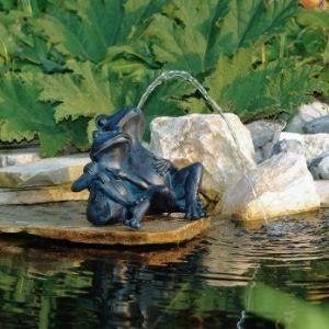 Ubbink 1386074 - 2 grenouilles pour bassin de jardin