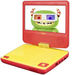 "Odys Peer 7+ - Lecteur DVD portable 7"""