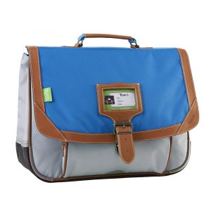 Tann's Cartable 38cm Iconic Bleu/Gris