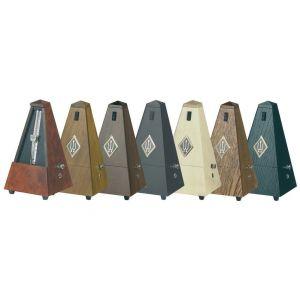 Wittner Métronome traditionnel Maelzel en forme de pyramide avec étui en bois, cloche (Import Allemagne)