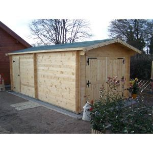Foresta Vectura VE 3562 - Garage en bois 19,03 m2