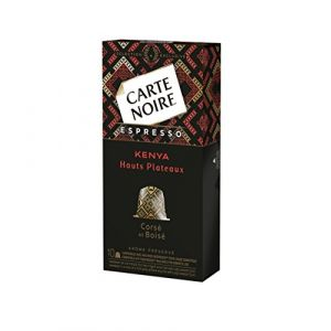 Carte Noire Espresso Kenya N°8 - 50 Capsules Compatibles Nespresso
