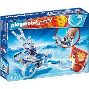 Playmobil 6832 Action - Robot de glace avec lance-disques