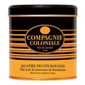 Compagnie Coloniale Thé noir Quatre Fruits Rouges - 150 gr