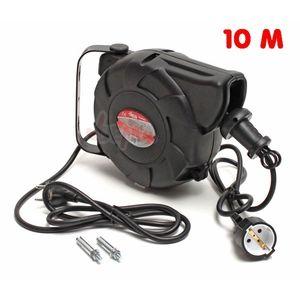 Dema Enrouleur automatique câble électrique H05VV-F 3G 3x1,5 mm² 10 m