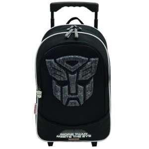 Sac à dos à roulettes Transformers Optimus 43 cm trolley noir - Haut de gamme