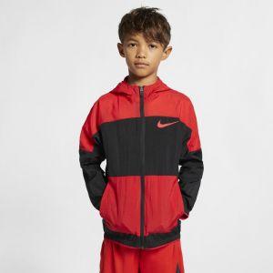 Nike Veste de training tissée Dri-FIT pour Garçon plus âgé - Noir - Couleur Noir - Taille XL