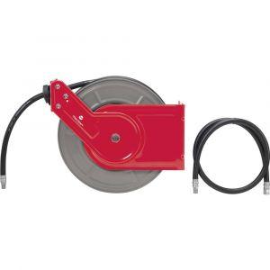 Toolcraft Enrouleur de tuyau pneumatique 40 bar 15 m