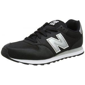 New Balance Gm500v1, Baskets Homme, Noir (Black/Silver), 45.5 EU