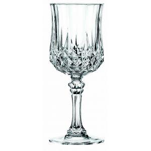 Cristal d'Arques 6 verres à pied Longchamp (12 cl)
