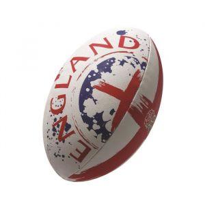 Gilbert Ballon de rugby FLAG SUPPORTER - Angleterre - Taille 5