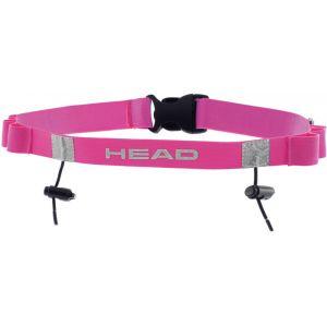 Head Tri Race Belt - rose Ceintures porte-dossard & Porte-puce