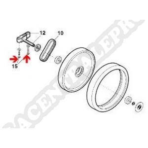 Procopi 1001069 - Vis d'essieu/capot Polaris 340-360-380