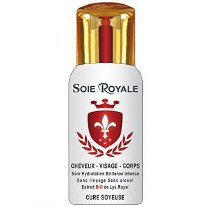 Soie Royale Cure Soyeuse Soie Royale BIO Cure Soyeuse 66 ml Extrait BIO de Lys Royal Cheveux Visage Corps Sans Alcool