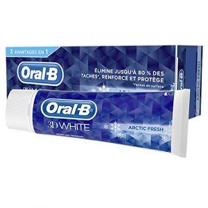 Oral-B 3D White Arctic Fresh Dentifrice - 75ml