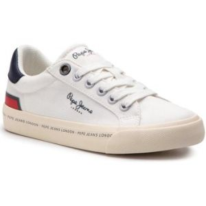 Pepe Jeans Baskets enfant TENNIS CANVAS blanc - Taille 36
