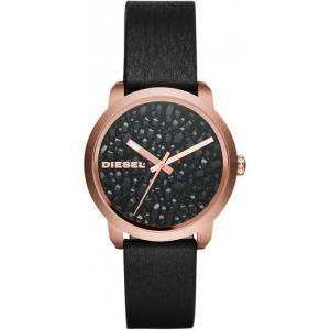 Diesel DZ5520 - Montre pour femme avec bracelet en cuir