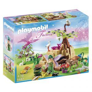 Playmobil 5447 Fairies - Fée Méditrine avec animaux