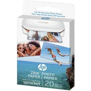 HP Zink Photo Paper W4Z13A - 1 set de papier photo pour imprimante photo