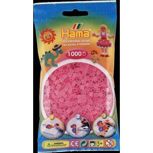 Sachet De 1000 Perles Hama Midi : Rose Transparent