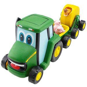 Tomy Johnny le tracteur et son attelage musical