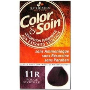 Les 3 chênes Color & Soin 11R rouge myrtille - Coloration permanente
