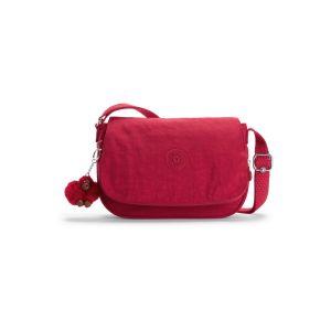 Kipling EARTHBEAT S, Sacs bandoulière Femme, Rouge
