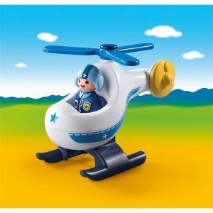 Playmobil 9383 - 1.2.3 : Hélicoptère de Police