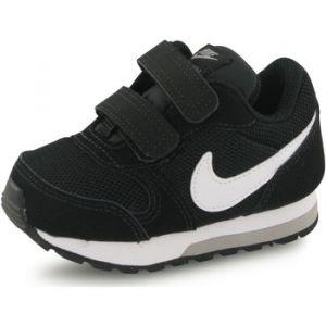 Nike MD Runner 2 (TD), Chaussures Bébé Garçon, Noir (Black/White-Wolf Grey 001), 18.5 EU