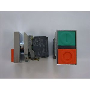 Schneider Electric BOUTON DOUBLE TOUCHE METAL A