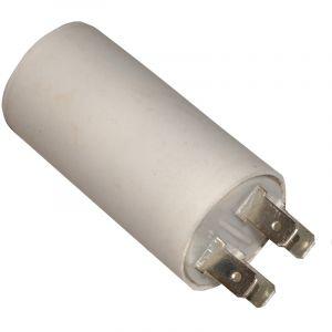 Aerzetix Condensateur permanent de travail pour moteur 2µF 450V avec cosses 6.3mm
