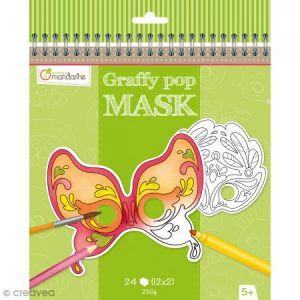 Avenue mandarine Graffy Pop Mask Venise