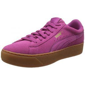 Puma Vikky Platform, Baskets Basses Femme, Rose (Rose Violet-Rose Violet 04), 40 EU