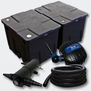 Kit de filtration de b in Bio Filtre 60000l Pompe éco UVC 24W