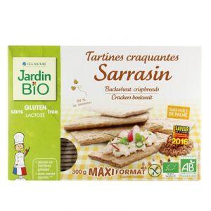 Jardin Bio Tartines craquantes sarrasin sans gluten