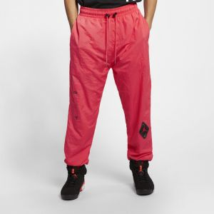 Nike Pantalon Jordan Legacy AJ 6 pour Homme - Couleur Rouge - Taille S